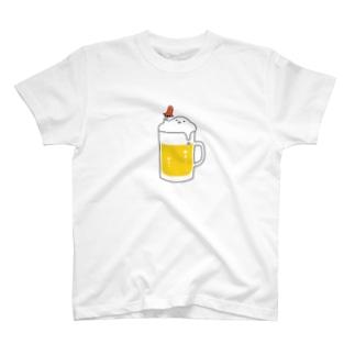 赤ウインナーは正義🍺 T-shirts