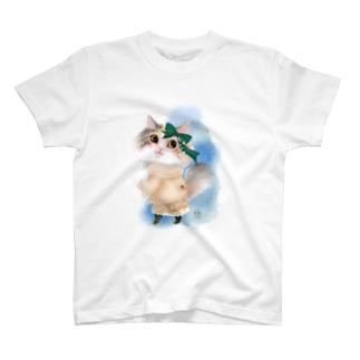 ヲカシなクリスマスルナ T-shirts