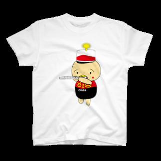 高田万十のオンパ フルート T-shirts