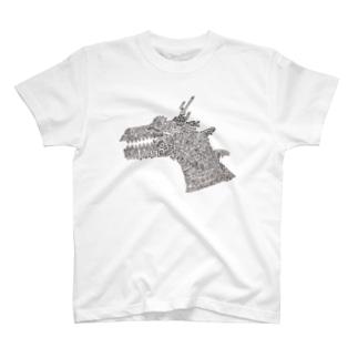 51-86のDRAGON T-shirts