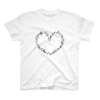 音符。 T-shirts