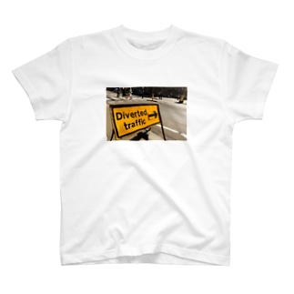 Diverted traffic T-shirts