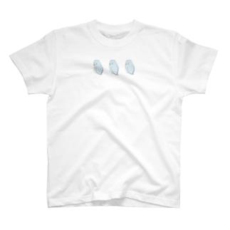 可愛いアメリカンホワイト マメルリハちゃん【まめるりはことり】 T-shirts