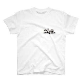 しろくろきんか T-shirts
