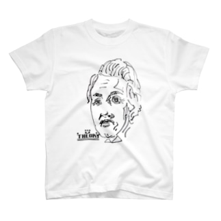 THEORY by GUMBOOTS T-shirts