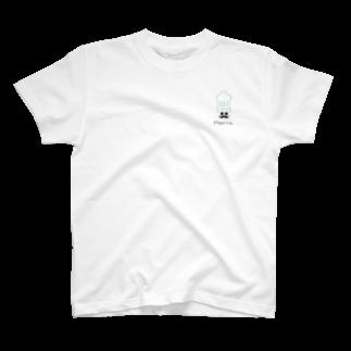 SUZURI 真備支店のムッシュ ピエール T-shirts