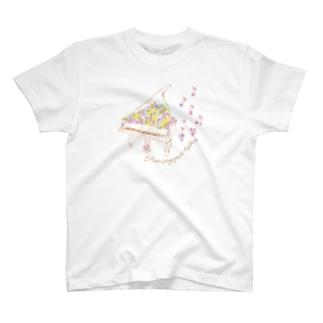 花の音符♪ver T-shirts