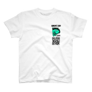 ロンドン支店ミニマークQR T-shirts