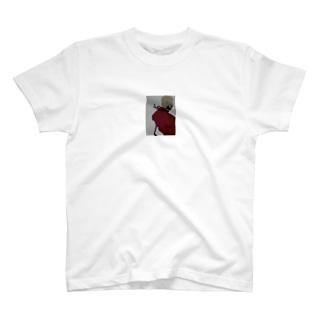 赤スーツのグレ男 T-shirts