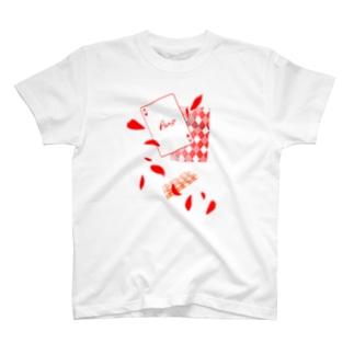 トランプ柄 ver.ハート(1) T-shirts