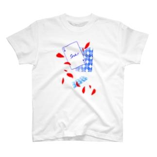 トランプ柄 ver.スペード(1) T-shirts