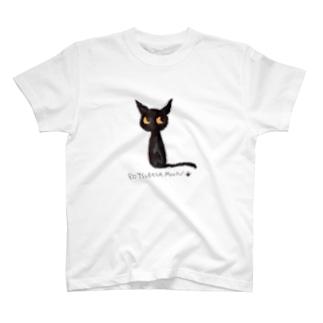 黒猫ムーン New Big  T-shirts