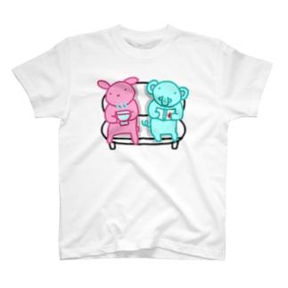 家ですごす。 T-shirts