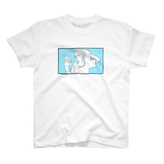シャンプーをしよう T-shirts