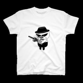 高田万十のオンパ ダディ T-shirts