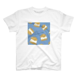 シュークリーム T-shirts