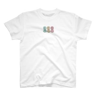 ちょっと太った三兄弟のTシャツ T-shirts
