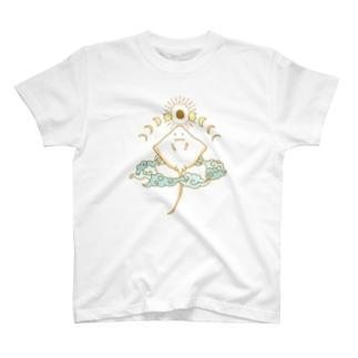 月相鱏(COLOR) T-shirts