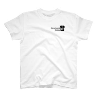#モノステ WプリントTシャツ T-shirts