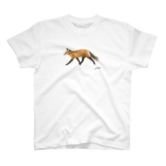 キツネ T-shirts