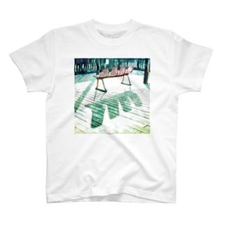 ベンチ T-shirts