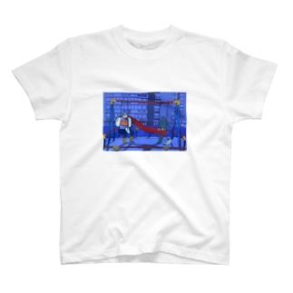 「アップリケをつけておくよ」 T-shirts