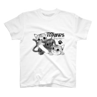 3にゃんず T-shirts