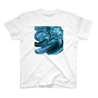 ワニくんの油絵 T-shirts