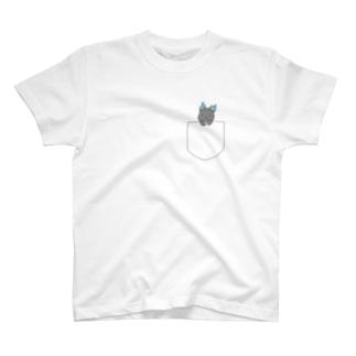 ポケットもばいりゅー T-shirts