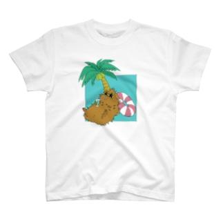 トロピカルモルモット(色違い.2) T-Shirt