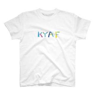 KYAFカラフル T-shirts