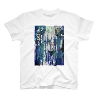 自分 side T-shirts