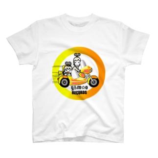 Y&M☆O RECORDS T-shirts