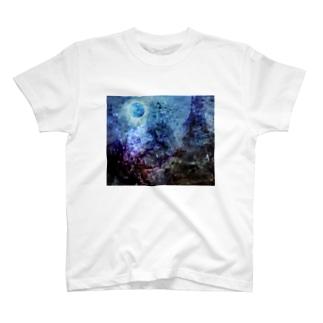 壊された未来と焦燥 タイポグラフィ無し T-shirts