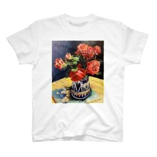 薔薇1 T-shirts