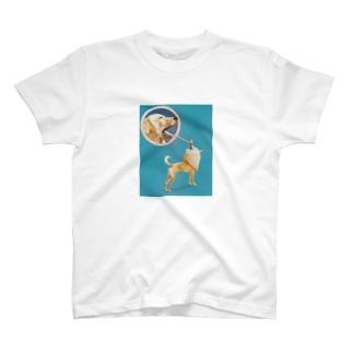 乗せるだけ T-shirts