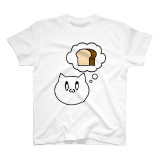 思い浮かべねこ Tシャツ