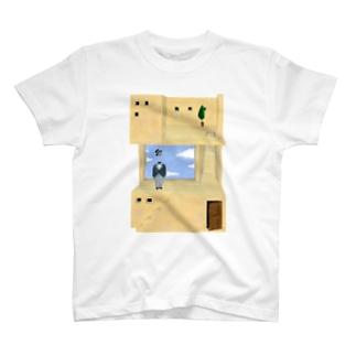 空想建築 T-shirts