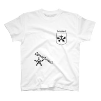 ベクトルPOCKET/クロス T-shirts