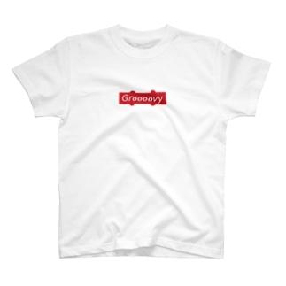 Groooovy - JB Pickup box logo T-Shirt
