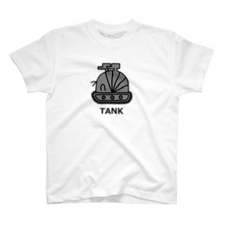 だんごむし戦車 T-shirts