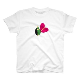 ハグするカメ T-shirts
