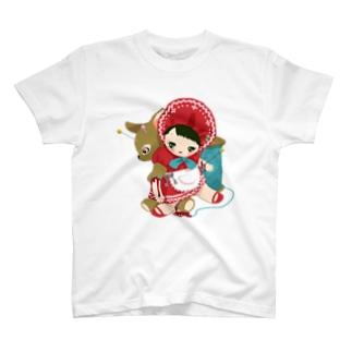 縫い合わせ文化にんぎょう T-shirts