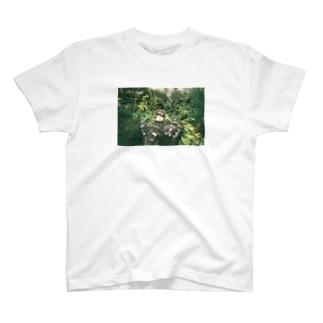 緑のたぬき T-shirts