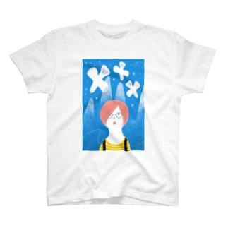 鳥を見た T-shirts
