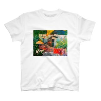 uno iwaoのふしぎなお家 T-shirts
