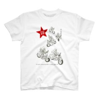 LaLaLa RIDE T-shirts