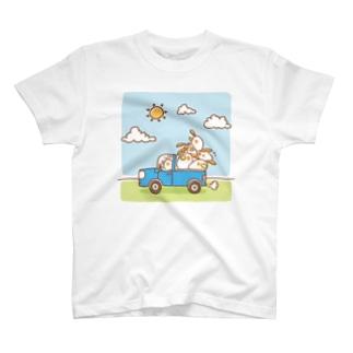 ヒラタドリ(わくわく大出荷) T-shirts