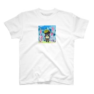 つくしの小道 T-shirts