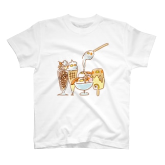 ヒラタドリ(アイスといっしょ) T-shirts
